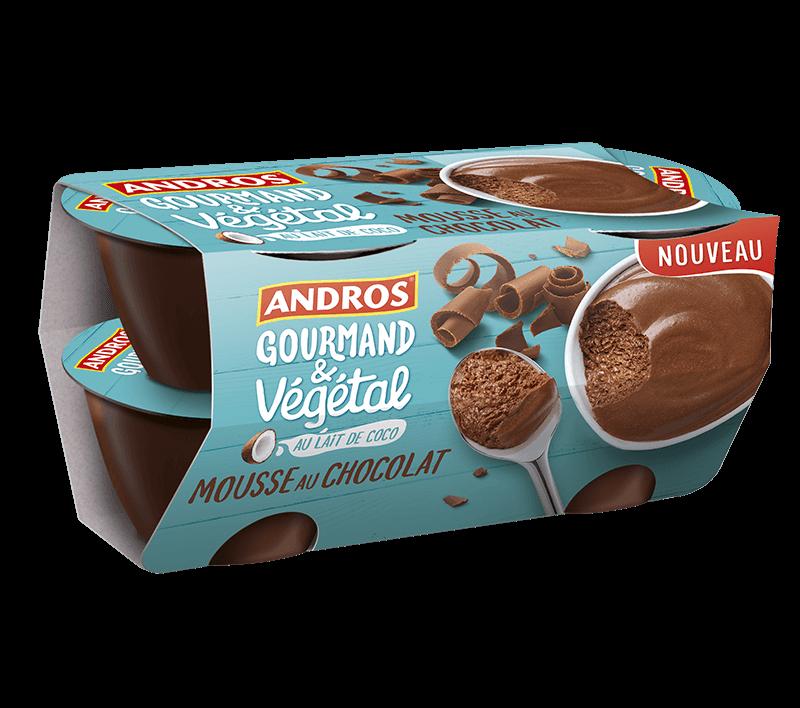 Mousse Au Chocolat Andros Gourmand Et Végétal