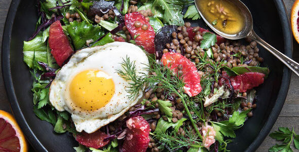 Recette : Salade d'hiver