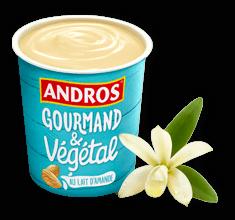Délice vanille au lait d'amande